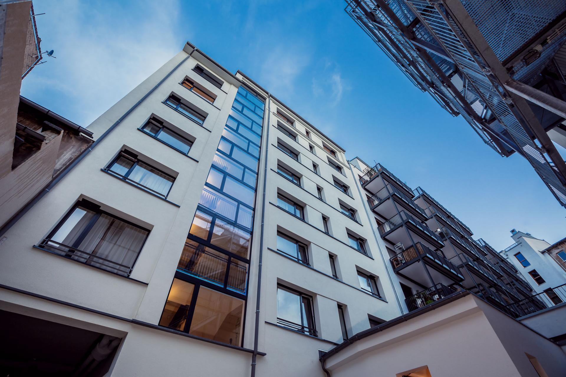 Exterior of Brera Elbestrasse 29 - Citybase Apartments
