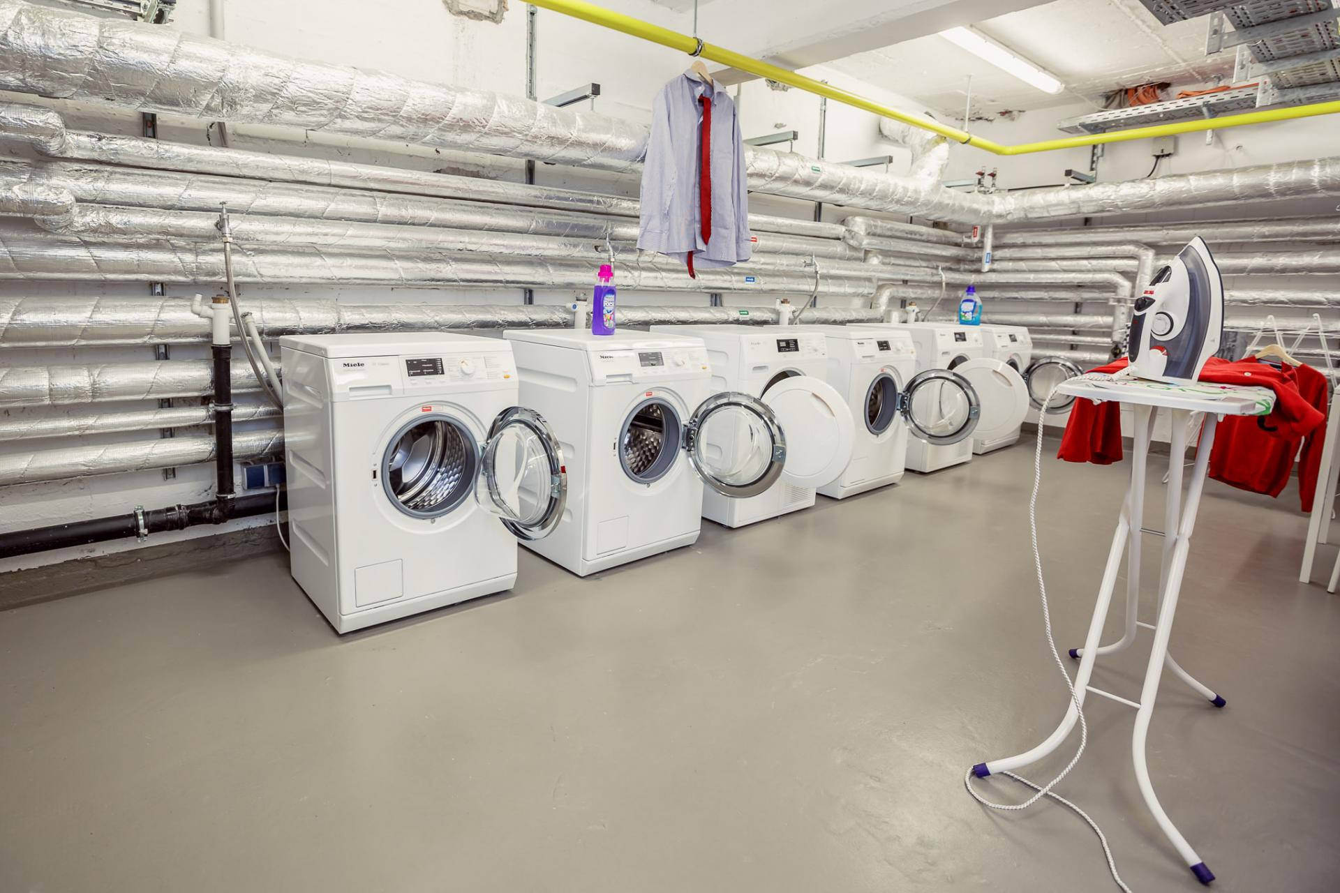 Communal laundry at Brera Elbestrasse 29 - Citybase Apartments