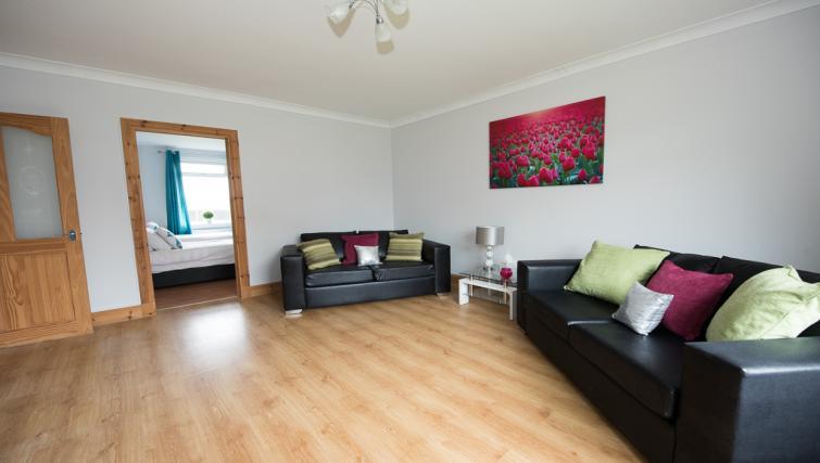 Sofa at Houldsworth Apartment - Citybase Apartments