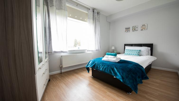 Bed at Houldsworth Apartment - Citybase Apartments