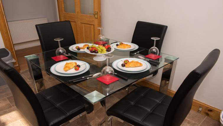 Table at Houldsworth Apartment - Citybase Apartments