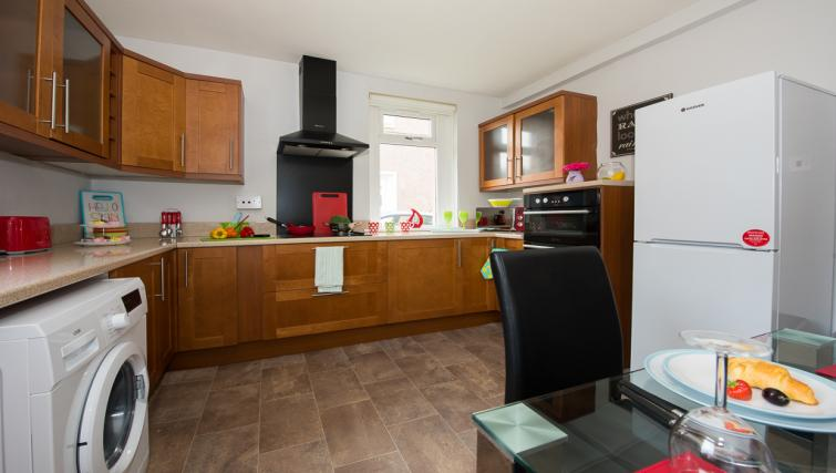 Kitchen at Houldsworth Apartment - Citybase Apartments