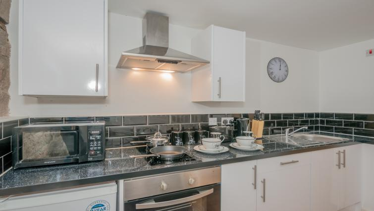 Equipped kitchen at Design Haus Apartments - Citybase Apartments