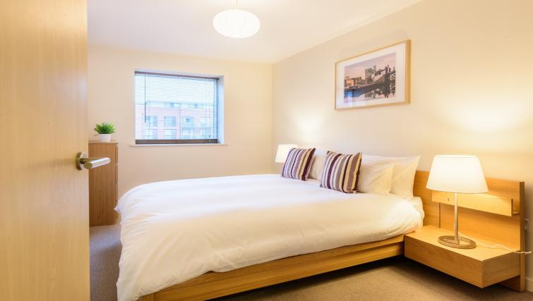 Double bedroom at Ryland Street Apartment - Citybase Apartments