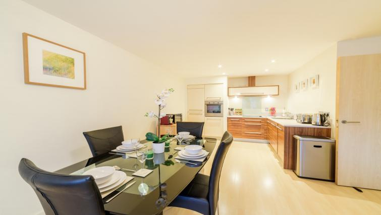 Dining table at Ryland Street Apartment - Citybase Apartments