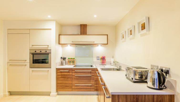 Kitchen at Ryland Street Apartment - Citybase Apartments