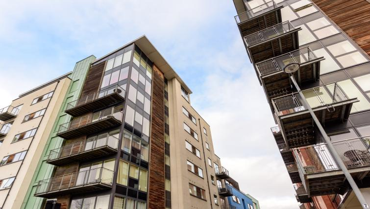 Exterior of Ryland Street Apartment - Citybase Apartments