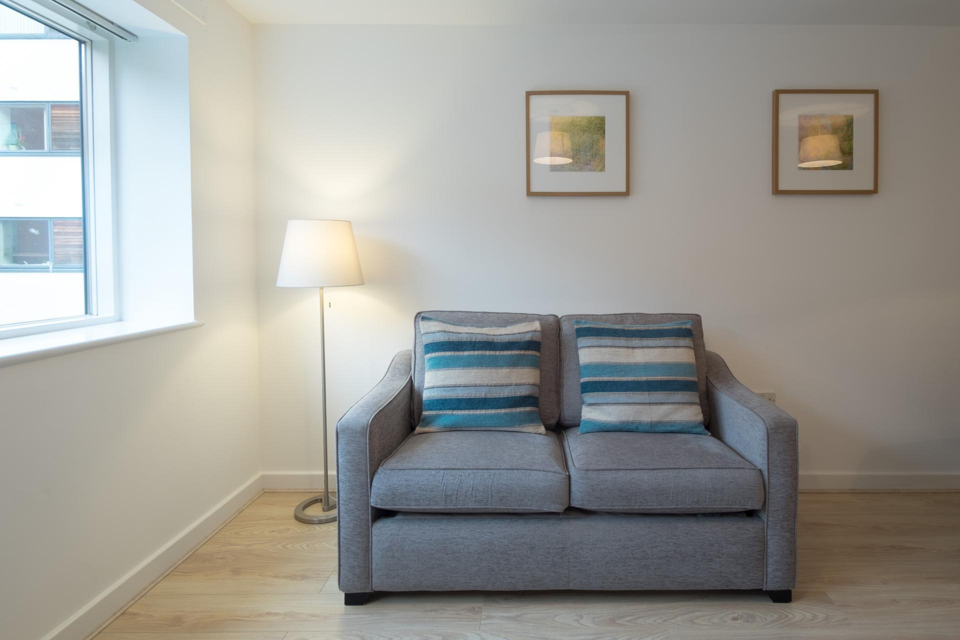 Sofa at  Ryland Street Apartment - Citybase Apartments