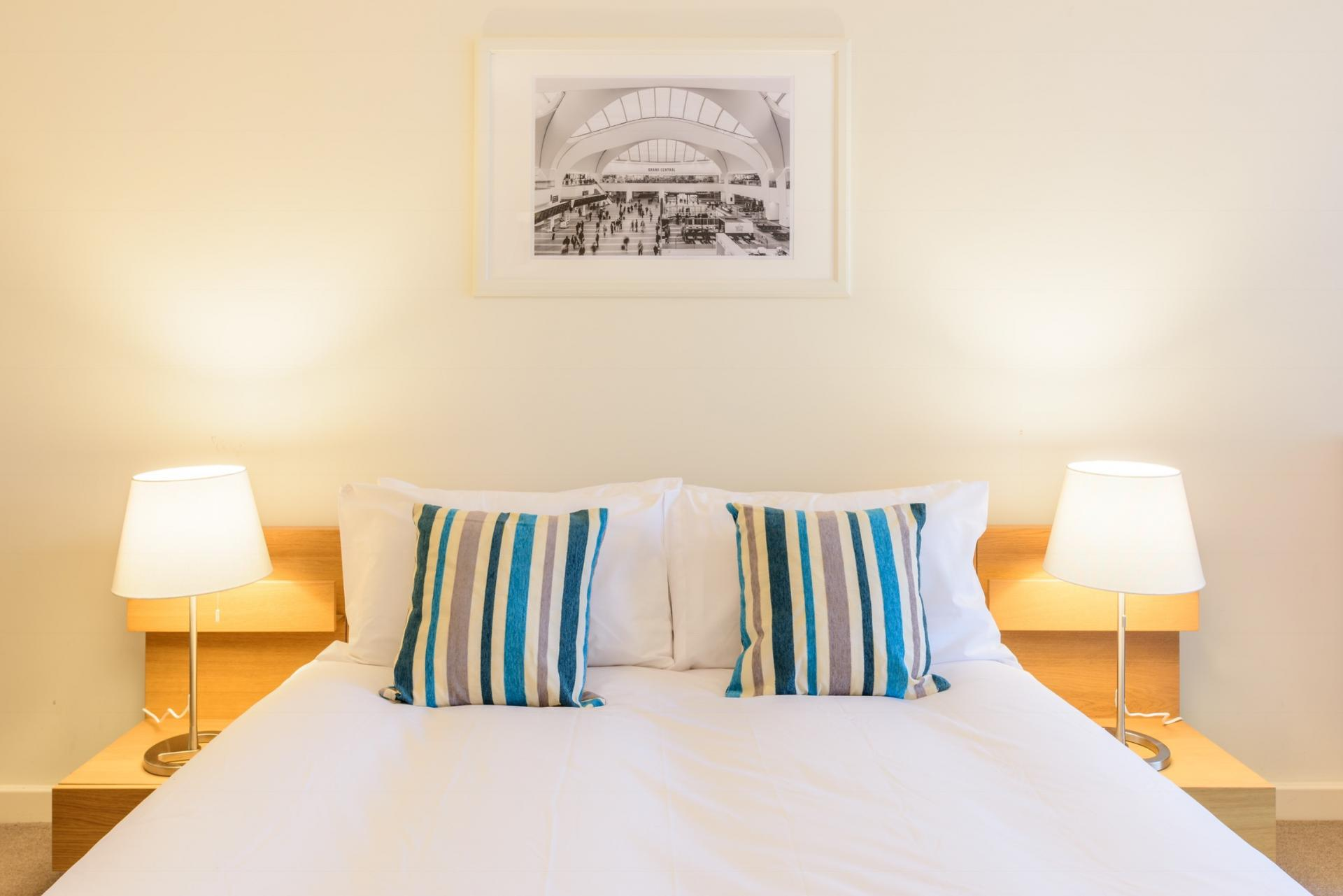 Bedroom at Ryland Street Apartment - Citybase Apartments