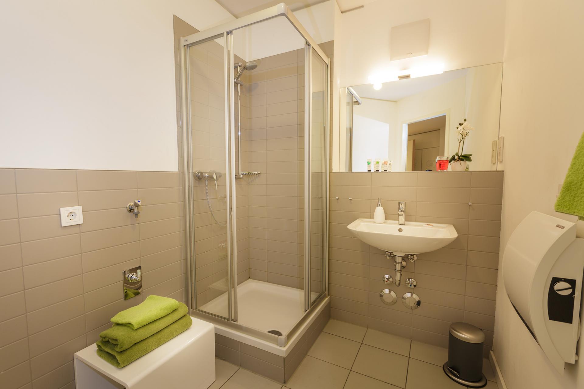 Bathroom at Brera Am Plaerrer 2 Apartments - Citybase Apartments