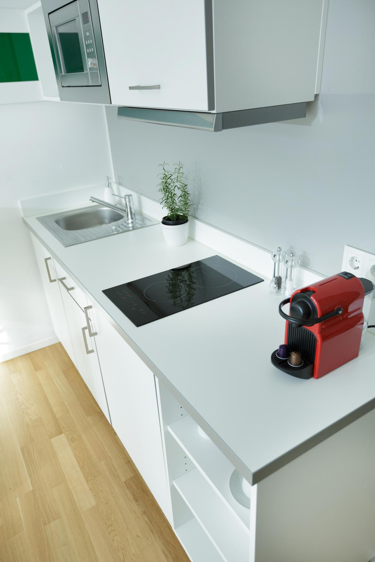 Kitchen at Brera Am Plaerrer 2 Apartments - Citybase Apartments