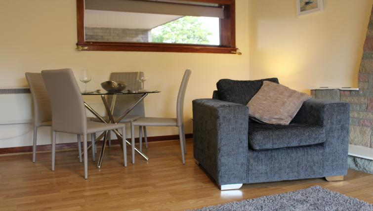 Lounge at the Glenbervie Road Apartment - Citybase Apartments