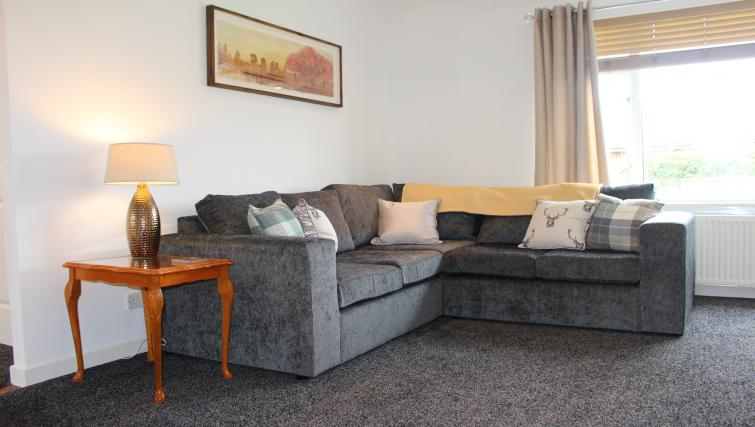 Living room at the Tolsta Crescent Apartment - Citybase Apartments
