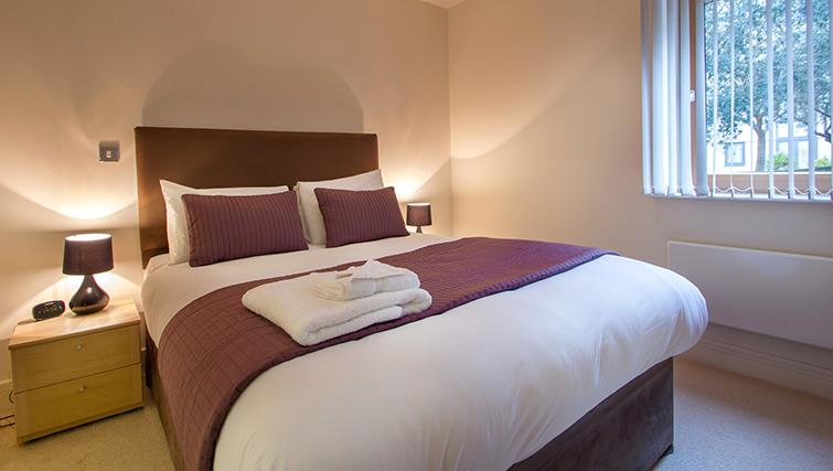 Bed at The Post Box Apartments - Citybase Apartments