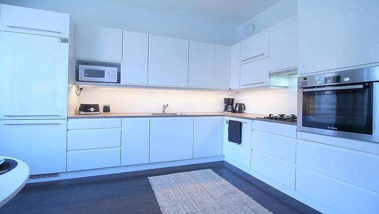 Kitchen at Mechelininkatu Apartment - Citybase Apartments