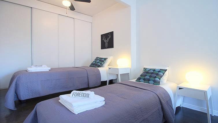 Bedroom at Mechelininkatu Apartment - Citybase Apartments