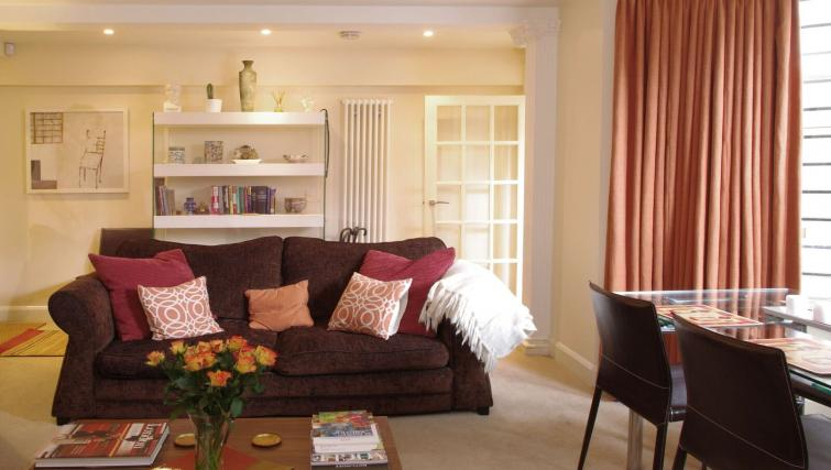 Sofa at Finborough Road Apartment - Citybase Apartments