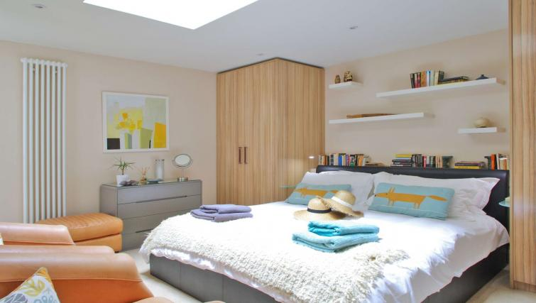 Bedroom at Finborough Road Apartment - Citybase Apartments