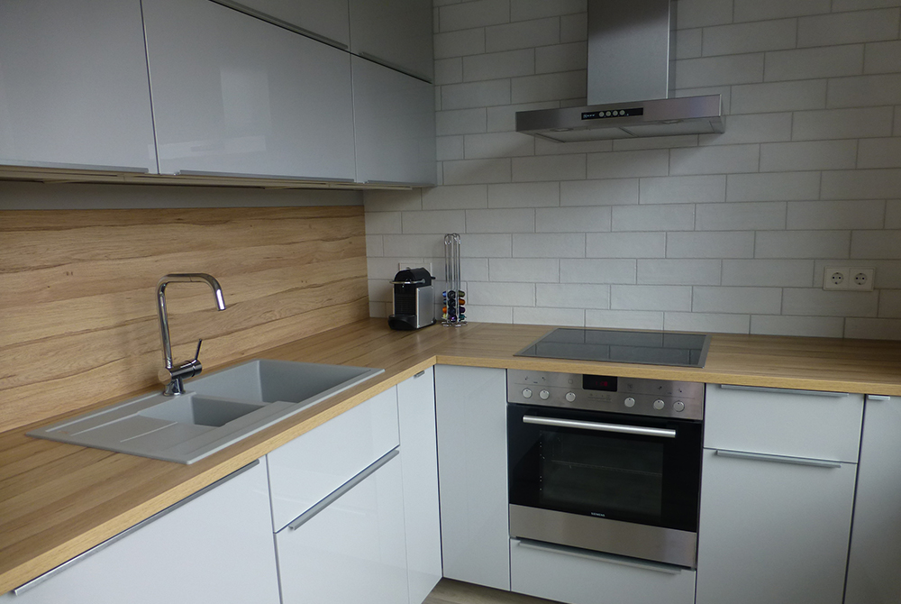 Kitchen at Ohmstrasse Apartment - Citybase Apartments