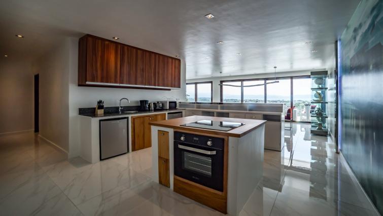 Kitchen at the Boracay Mount Luho Apartments - Citybase Apartments