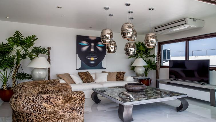 Living room at the Boracay Mount Luho Apartments - Citybase Apartments