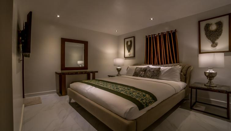 Bed at the Boracay Mount Luho Apartments - Citybase Apartments