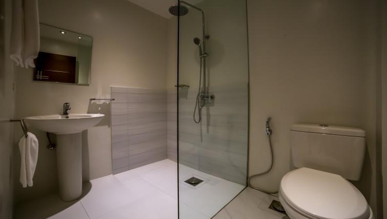 bathroom at the Boracay Mount Luho Apartments - Citybase Apartments