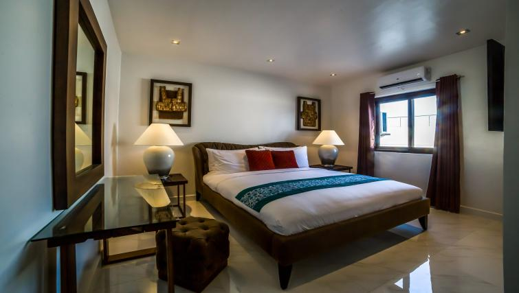 King size bed at the Boracay Mount Luho Apartments - Citybase Apartments