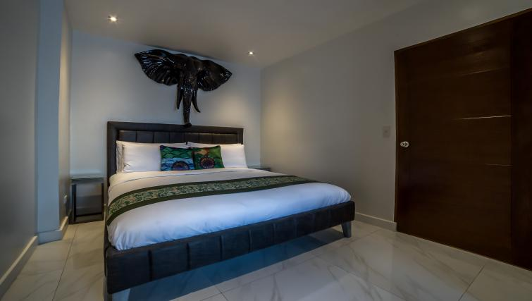 Large bed at the Boracay Mount Luho Apartments - Citybase Apartments