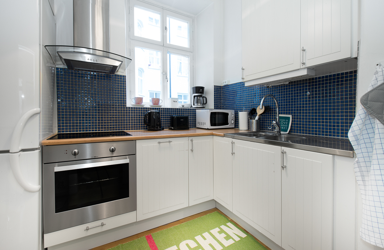 Kitchen at Kocksgatan Apartments - Citybase Apartments