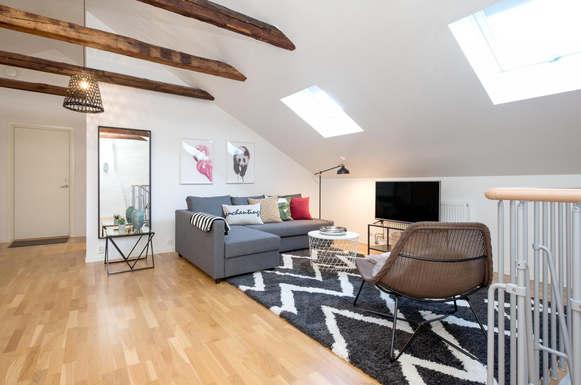 Living room at Kocksgatan Apartments - Citybase Apartments