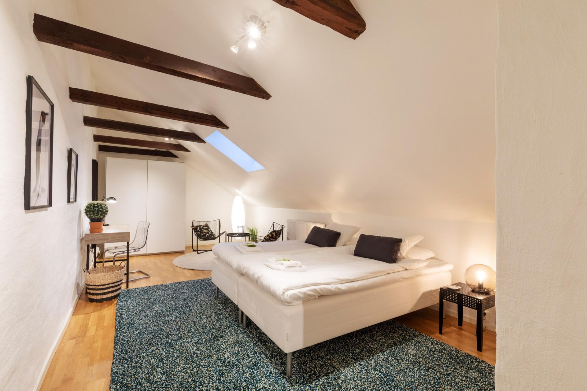 Bedroom at Kocksgatan Apartments - Citybase Apartments