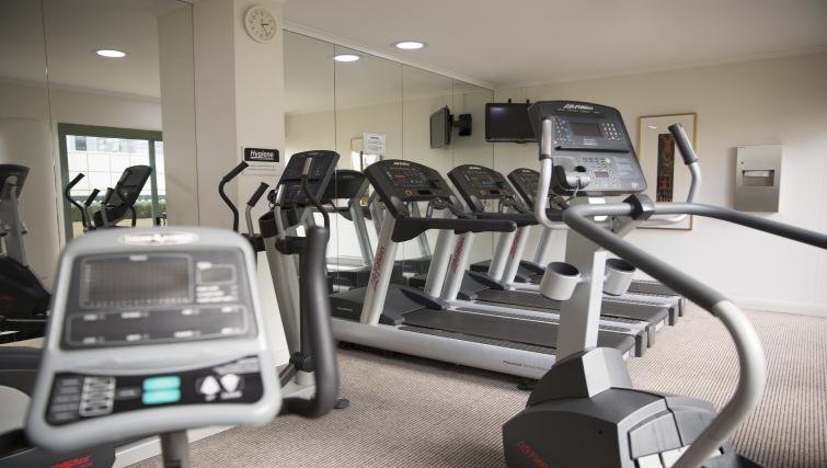 Gym at The Sebel Sydney Chatswood Apartments - Citybase Apartments