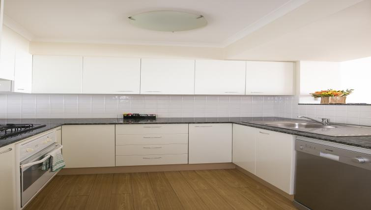 Kitchen at The Sebel Sydney Chatswood Apartments - Citybase Apartments