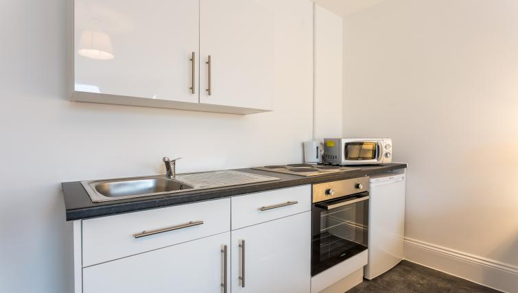Kitchen at the West Street Studios - Citybase Apartments