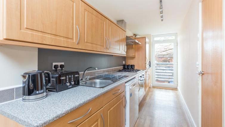 Kitchen at Pride Apartments - Citybase Apartments