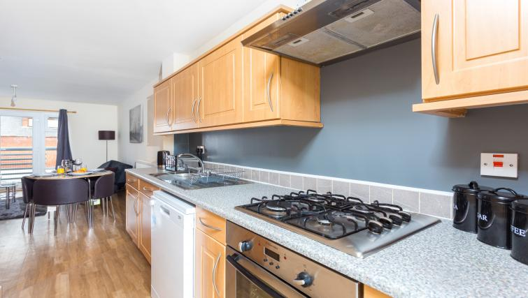 Oven at Pride Apartments - Citybase Apartments