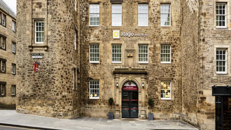 Entrance at Adagio Edinburgh Royal Mile Apartments - Citybase Apartments