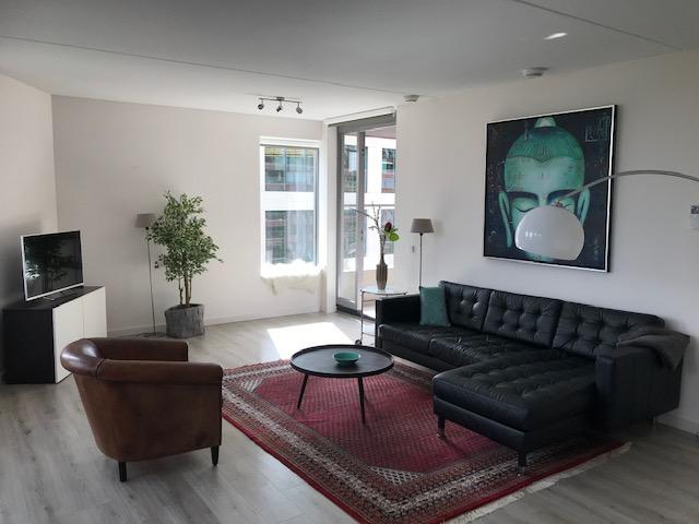 Living room at Stationslaan Apartment, Centre, Breda - Citybase Apartments