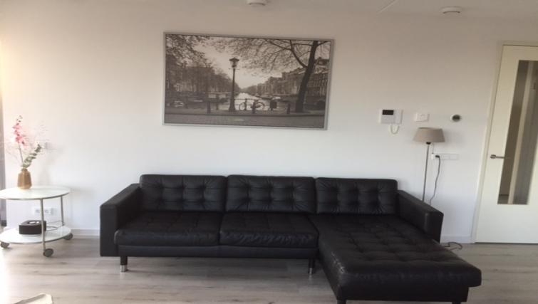 Living room at the Stationslaan Apartment - Citybase Apartments