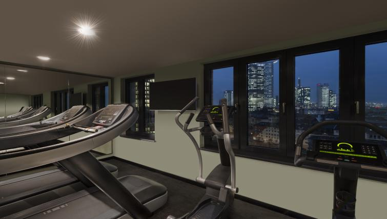 Gym at the Adina Apartment Hotel Frankfurt Westend - Citybase Apartments