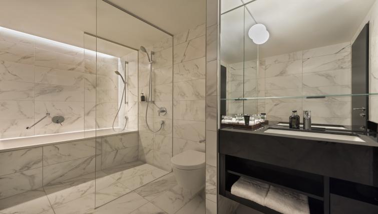 Bathroom at Adina Apartment Hotel Frankfurt Westend - Citybase Apartments