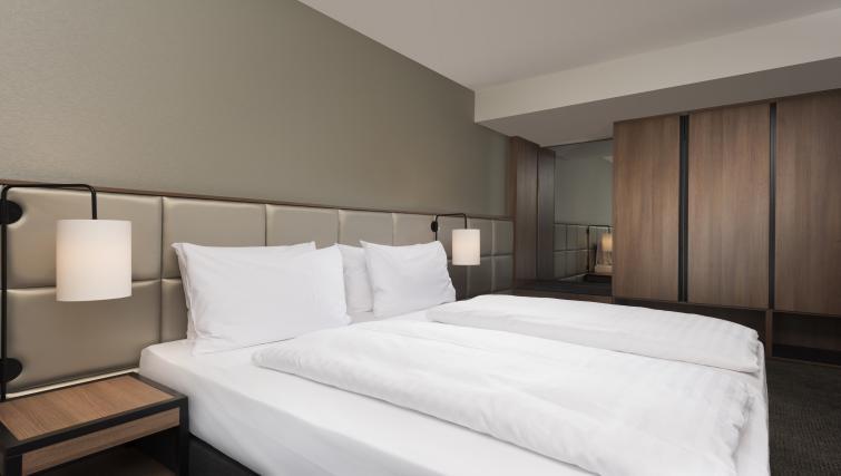 Bedroom at Adina Apartment Hotel Frankfurt Westend - Citybase Apartments