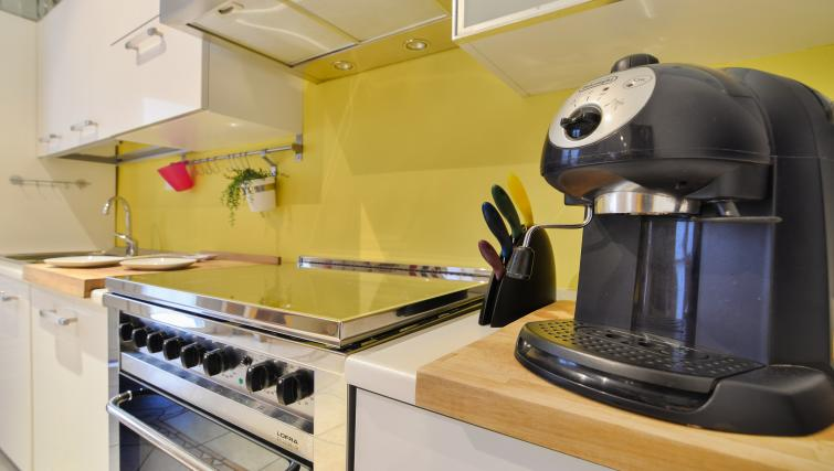Kitchen facilities at the Sebenico Apartments - Citybase Apartments