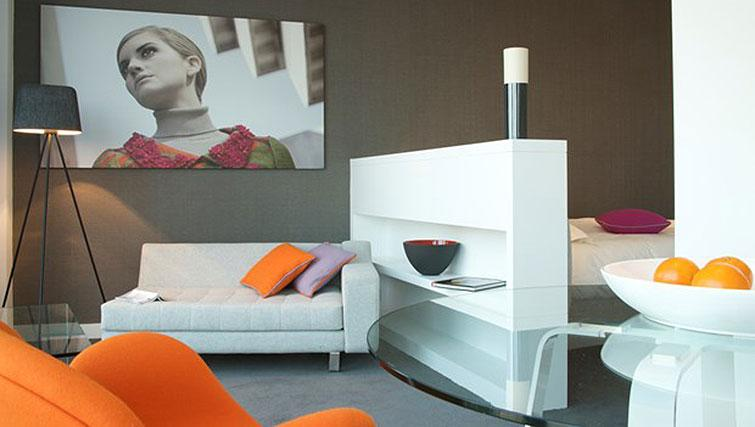 Studio apartment at Staying Cool at The Rotunda - Citybase Apartments