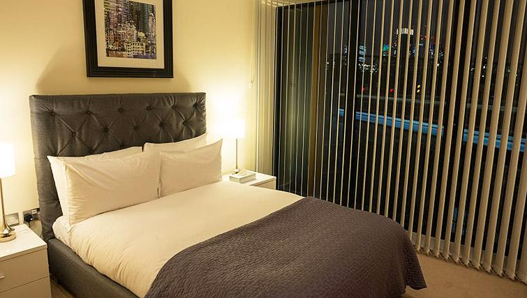 Bedroom at Clarendon Arc House - Citybase Apartments