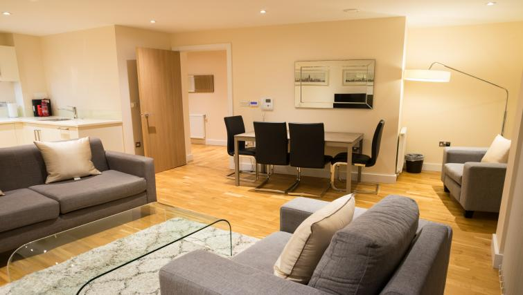 Dining area at Clarendon Arc House - Citybase Apartments