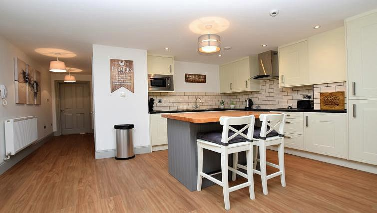 Kitchen at Oakfield Place Apartment - Citybase Apartments