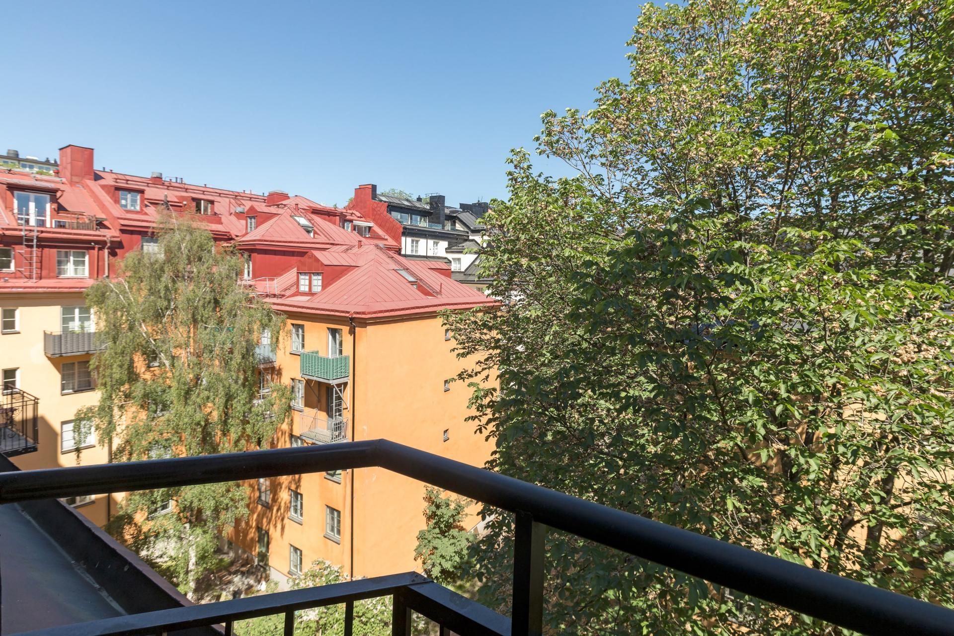 View at Pontonjärgatan Apartments, Marieberg, Stockholm - Citybase Apartments