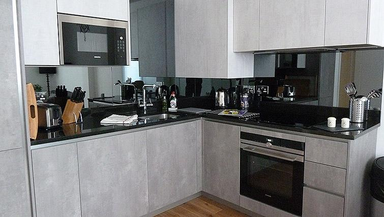 Kitchen at Flying Butler Ealing Broadway Mount Park - Citybase Apartments